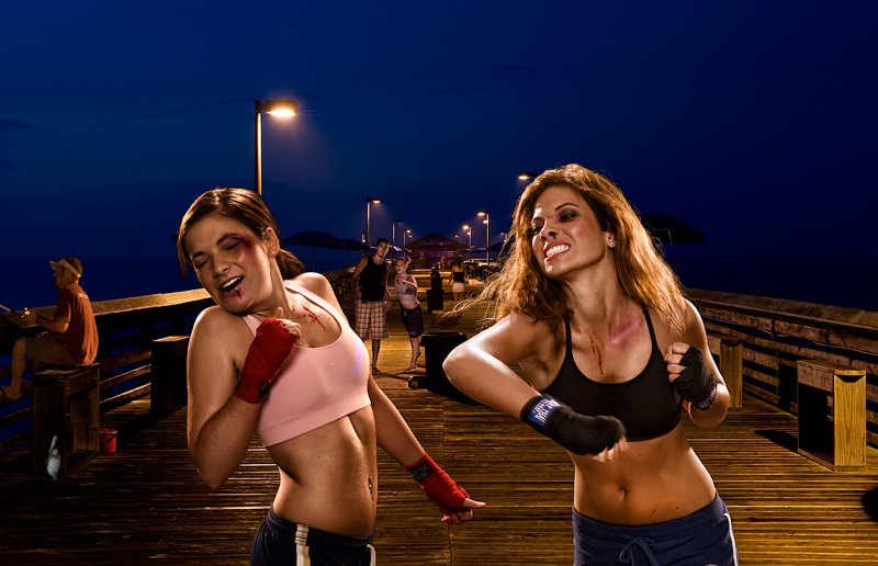 Erotic girl fight any more